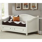 Home Styles Bermuda Wood Daybed in Brushed White Finish
