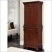 Home Styles Aspen Pantry in Rustic Cherry Finish