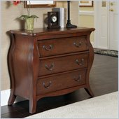 Home Styles The Regency Bombe Chest in Cherry Finish