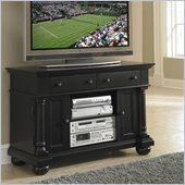 Home Styles St. Croix TV Stand in Black