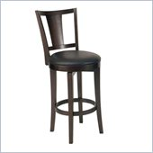 Home Styles Rio Vista Swivel in Espresso Stool 
