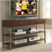 Home Styles St. Ives Media TV Stand in Cinnamon Cherry Finish 