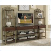 Home Styles St. Ives 3PC Entertainment Center in Cinnamon Cherry