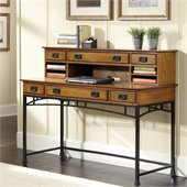 Home Styles Modern Craftsman Executive Desk and Hutch