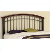 Home Styles Modern Craftsman Headboard in Oak and Deep Brown Finish