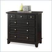 Home Styles Arts and Crafts Chest in Black