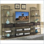 Home Styles Bordeaux 3PC Entertainment Center in Espresso Finish