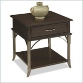 Home Styles Bordeaux End Table Espresso Finish