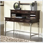 Home Styles Bordeaux Executive Desk and Hutch in Espresso