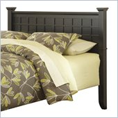 Home Styles Arts and Crafts Queen Headboard in Black