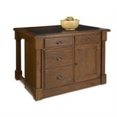 Home Styles Aspen Kitchen Island with Drop Leaf