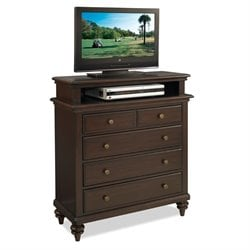 Home Styles Bermuda TV Media Chest in Espresso Finish