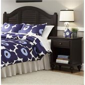Home Styles Bermuda Headboard and Night Stand in Espresso Finish