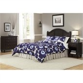 Home Styles Bermuda Headboard, Night Stand, and Chest in Espresso