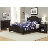 Home Styles Bermuda Queen Bed, Night Stand, and Chest in Espresso