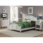 Home Styles Bermuda Bedroom Set in White