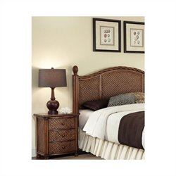Home Styles Marco Island Queen/Full Headboard and Night Stand Set