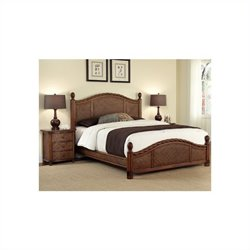 Home Styles Marco Island Bed and Night Stand Set