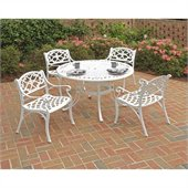 Home Styles Biscayne 5PC 42 Dining Table Set