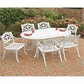 Home Styles Biscayne 7PC 72 Oval Dining Table Set