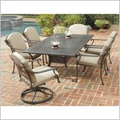 Home Styles Covington 7PC 72 Dining Table Set