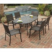 Home Styles Stone Harbor 65 7PC Dining Table Set