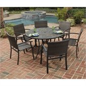 Home Styles Stone Harbor 51 7PC Dining Table Set