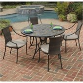 Home Styles Stone Harbor 51 5PC Dining Table Set