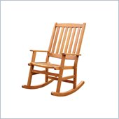 Home Styles Bali Hai Outdoor Rocking Chair in Eucalyptus Finish