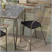 Home Styles Glen Rock Outdoor Bar Stool in Gray