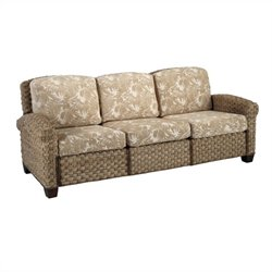 Home Styles Cabana Banana II Three Seat Sofa in Honey Finish