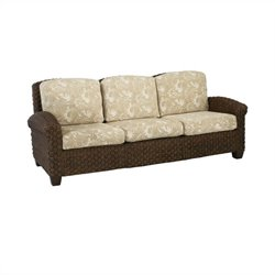 Home Styles Cabana Banana II Three Seat Sofa in Cinnamon Finish