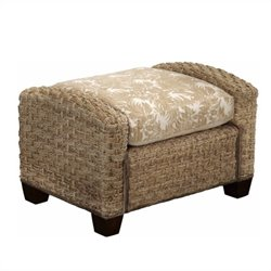 Home Styles Cabana Banana II Ottoman in Honey Finish