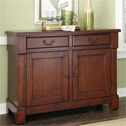 Home Styles Aspen Buffet in Rustic Cherry