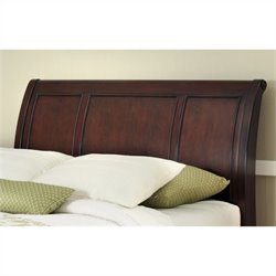 Home Styles Lafayette Sleigh Headboard in Cherry