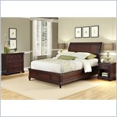 Home Styles Lafayette 3 Piece Sleigh Headboard Set