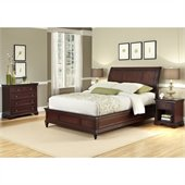 Home Styles Lafayette 3 Piece Sleigh Bed Set