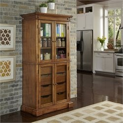 Home Styles Americana China Pantry in Oak