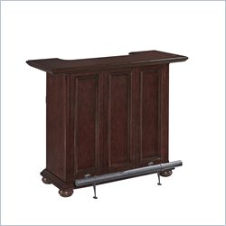 Home Styles Colonial Classic Home Bar in Distressed Dark Cherry