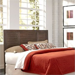 Home Styles Barnside Slat Headboard in Aged Barnside