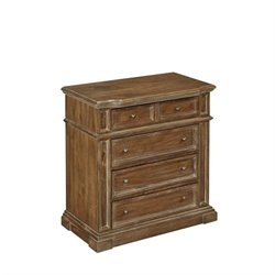 Home Styles Americana Chest in Natural Acacia