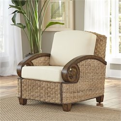 Home Styles Cabana Banana III Accnet Chair in Honey