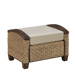 Home Styles Cabana Banana III Ottoman in Honey