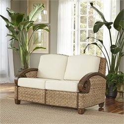 Home Styles Cabana Banana III Love Seat in Honey
