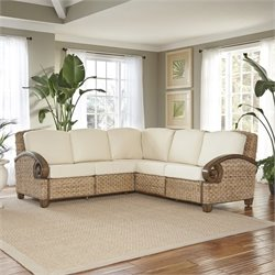 Home Styles Cabana Banana III L Shaped Sectional in Honey