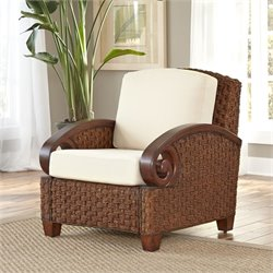 Home Styles Cabana Banana III Accent Chair in Cinnamon