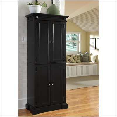 Home Styles Americana Pantry in Black