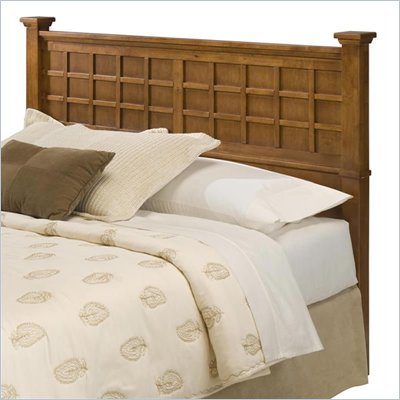 Home Styles Arts &amp; Crafts Queen Headboard in Cottage Oak Finish