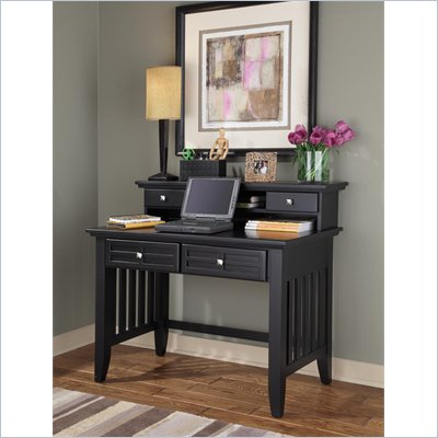 Home Styles Arts &amp; Crafts Student Desk &amp; Hutch