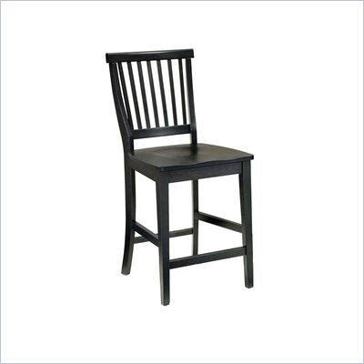 Home Styles Arts &amp; Crafts 24&quot; Bistro Stool in Ebony